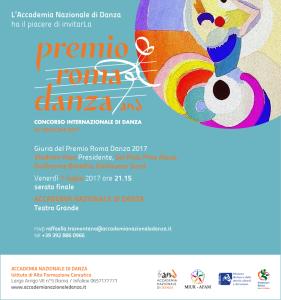 INVITO PREMIO ROMA 2017