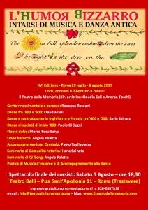 locandina Saggio 2017